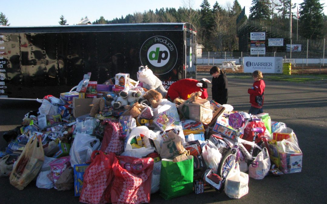 2018 Toys for Tots at Pacific Raceways